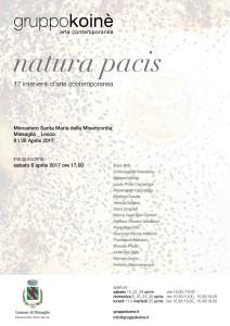 locandina - Natura Pacis